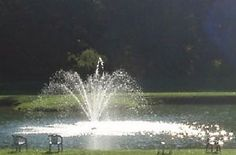 Large Water Fountain Kit for Outdoor Pond Aeration