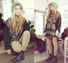 Christmas feeling + (by Molly Rustas) http://lookbook.nu/look/2804545-Christmas-feeling