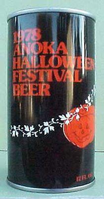 1978 ANOKA HALLOWEEN FESTIVAL BEER Can Schell Brewing, New Ulm, MINNESOTA gd1/1+
