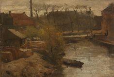 Matthijs Maris - De Noord-West-Buitensingel in Den Haag 1866ca