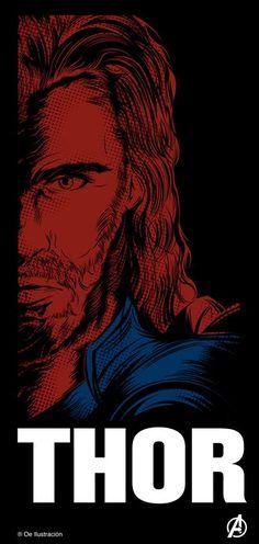 Avengers Illustrations / Thor