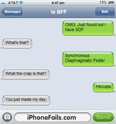 Hiccups Hiccups #autocorrect #text fail