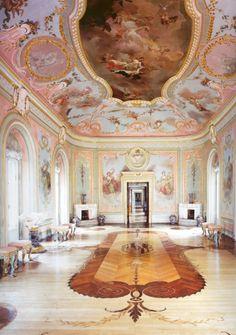 The Chinese Palace, built by Antonio Rinaldi, between 1762 and 1768, Oranienbaum…