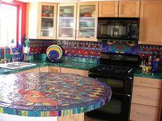 Die Arten Von Fliesen Auf Dem Mosaik Ideen Für Die Küche | Mehr Auf Unserer  Website