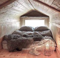 Cozy bedroom in Switzerland.