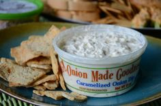 OMG Onion Made Goodness Caramelized Onion Dip. Visit http://www.omgdip.com for #omgdip locations @omgdip