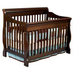 Delta Children's Products - Canton 4-in-1 Convertible Crib in Cherry Espresso.Opens in a new window