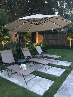 LED Round Offset Patio Umbrella in Chili Red - Patio Umbrellas - Ideas of Patio Umbrellas - 11 ft. LED Round Offset Patio Umbrella in Red at The Home Depot Mobile Backyard Shade, Small Backyard Patio, Backyard Seating, Backyard Patio Designs, Diy Patio, Backyard Landscaping, Backyard Projects, Shade Ideas For Backyard, Outdoor Patio Decorating