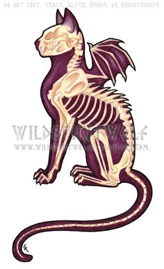 Death Cat Color Tattoo by WildSpiritWolf.deviantart.com  IS THIS FREAKING AWESOME OR WHAT!!!