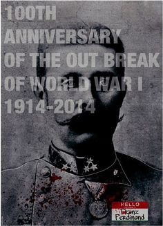 Luis Yanez, poster about WW1, 2014