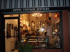 jewelry storefront | PIPPIN VINTAGE JEWELRY SHOP Storefront.