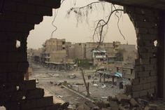 In Picture, Syria in Ruin? Who is pleased by a country in ruin? While much of the world's attention focuses on a possible war with North Korea, the war currently being fought in Syria grinds …