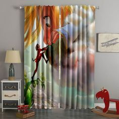 3D Printed Tangled The Series Style Custom Living Room Curtains – Westbedding