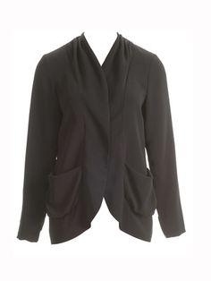 burda style, Schnittmuster - Verschlusslose Jacke aus leichtem Krepp. Nr. 128 A aus 05-2013, und zum Download