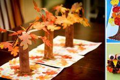 8 petits bricolages d'automne à faire avec les enfants!