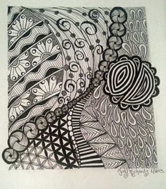 This blog is all about my style of Penwork using Zentangle patterns and my favourite of all doing Mandalas.. I may not be a teacher but I have a love for my art and I want to share my work with others