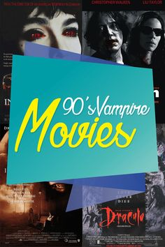 Top 10 best vampire movies of the 1990s. Click through to read the article: http://vanessa-morgan.blogspot.be/2012/04/90s-vampire-movies.html