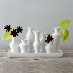 Cluster Bud Vase Tray in for mom Mother's Day Gift Guide Pastel Petals at Terrain