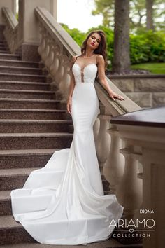 Wedding Dresses - beautiful bridal gowns by Ariamo The Bride, Lace Dress, White Dress, Top Wedding Dresses, Dress Collection, Bridal Gowns, Marie, Bridesmaid, Weeding