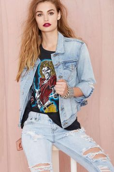 Nasty Gal Denim - The Over and Out Jacket | Shop What's New at Nasty Gal