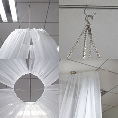 White Ceiling Drapes Sheer Curtain Panels Fire Retardant Fabric With PocketBalsaCircle 30 feet long Premium Sheer Voile Ceiling Draping Panel - Wedding Ceremony Party Home Decorations Image 3 of White Ceiling Drapes Sheer Curtain can be hung by Ceiling Curtains, Voile Curtains, Sheer Curtain Panels, Sheer Drapes, Ceiling Panels, Panel Curtains, Tulle Ceiling, Fabric Ceiling, Curtain Fabric