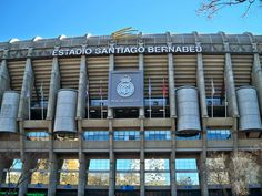 Estadio Santiago Bernabeu, Madrid