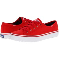f822b9046750be Keds Double Up Core (Red) Women s Lace up casual Shoes ( 34) ❤