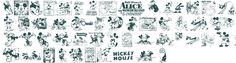 Disney fonts
