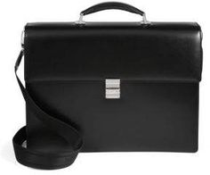Montblanc Leather Business Bag Suitcase, Business, Leather, Bags, Accessories, Mont Blanc, Handbags, Taschen, Suitcases