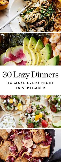 20 healthy meal ideas for pregnancy simple meal ideas simple 30 low maintenance dinners to make for each night in september forumfinder Images
