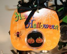 Halloween ornament earring Pumpkin