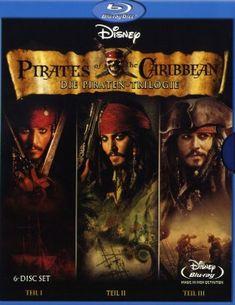Pirates of the Caribbean Die PiratenTrilogie 6 Blurays » Starmovieshop