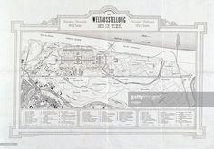 Location map of the World Expo 1873 in Vienna. Location Map, Vienna, Letterpress, Maps, World, Fotografia, World's Fair, Bosnia, Hungary