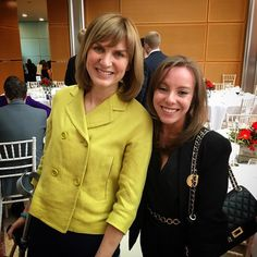 Casual meeting with Fiona Bruce #london #awards #champagne  by georgina_206