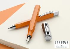 Faber Castell Stilou Ondoro Orange (fountain pen) pen) www.Jarrive.ro