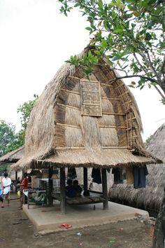Sasak Traditional House, Lombok-Indonesia
