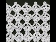 Crochet : Punto Calado # 15