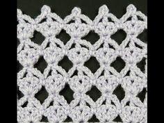 Crochet : Punto Calado # 15 - YouTube