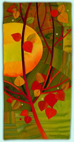 Melody Johnson: Art Quilts - Galleries - October Series