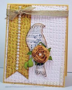 DTGD12 Vintage Bird by Jeanne S - Cards and Paper Crafts at Splitcoaststampers