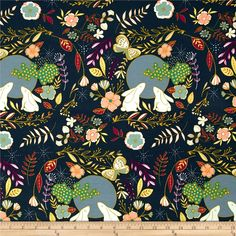 Art Gallery Nightfall Jersey Knit Moon Stories Spark from @fabricdotcom  Designed by Maureen Cracknell for Art Gallery Fabrics, this lightweight stretch cotton jersey knit is perfect for making t-shirts, loungewear, leggings, children's apparel, knit dresses and more! It features a soft hand and about a 50% four way stretch for added comfort and ease. Colors include charcoal, blue/grey, mustard, green, coral, pink, and red.