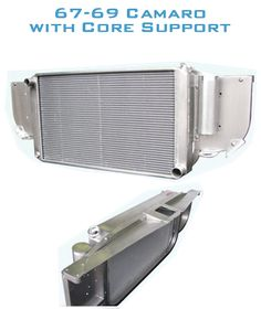 AutoRad Radiator / Core Support - 67-69 Camaro