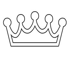 45 Free Paper Crown Templates ᐅ TemplateLab Crown Printable, Templates Printable Free, Printables, Princess Crown Crafts, Make Business Cards, Crown Template, Crown Pattern, Prince Crown, Doll House Plans