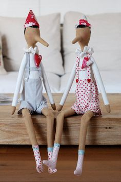 Tilda Pinocchio by Nastrierocchettishop on Etsy