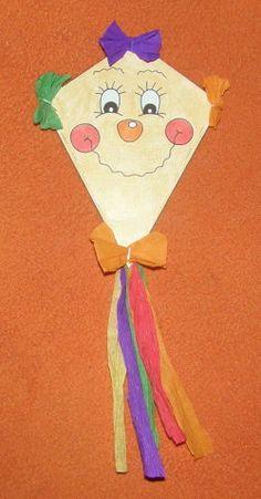 Šarkan - vrecko Projects For Kids, Diy For Kids, Crafts For Kids, Kite Making, Makar Sankranti, Autumn Activities For Kids, Summer Crafts, Princess Peach, Drake