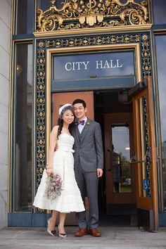 29 City Hall Weddings That Prove Less Is More And Wedding