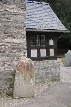 In the Welsh village of Maentwrog the giant Twrog threw a boulder which smashed a pagan altar. The altar stone remains. #folklorethursday