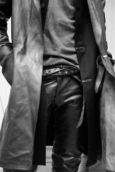 Visions of the Future: MA++... layering with leather