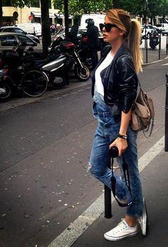 Gafas de sol- Celine Chaqueta-Zara Peto- Zara
