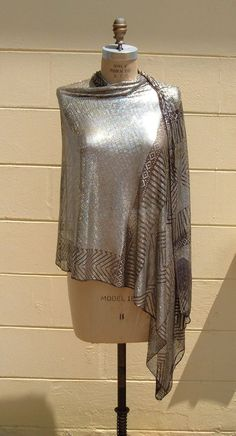 Vintage antique assuit coptic shawl. 1920's. aaaahhh!~